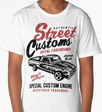American Muscle Car Retro Vintage Long T-Shirt