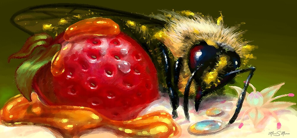 Smoothie Bee by marvision