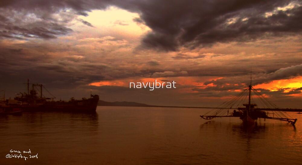 warm skies, silent waters by navybrat