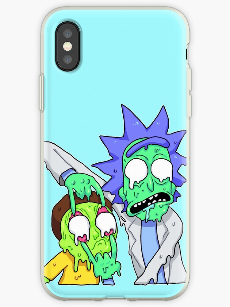release date: b74f6 515c2 'Rick and Morty ' iPhone Case by Meg Lee