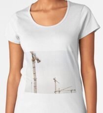 Construction Site Women's Premium T-Shirt