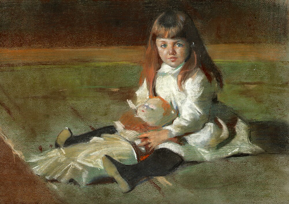 Sargent Girl by Josef Rubinstein