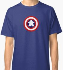 Captain Meeple Classic T-Shirt