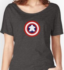 Captain Meeple Women's Relaxed Fit T-Shirt