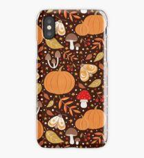 Autumn elements iPhone Case/Skin
