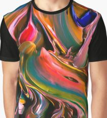 Abstract Acryl Art 20 Graphic T-Shirt