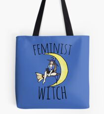 Feminist witch Tote Bag