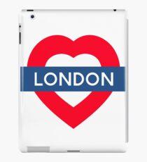 London Underground - Heart iPad Case/Skin
