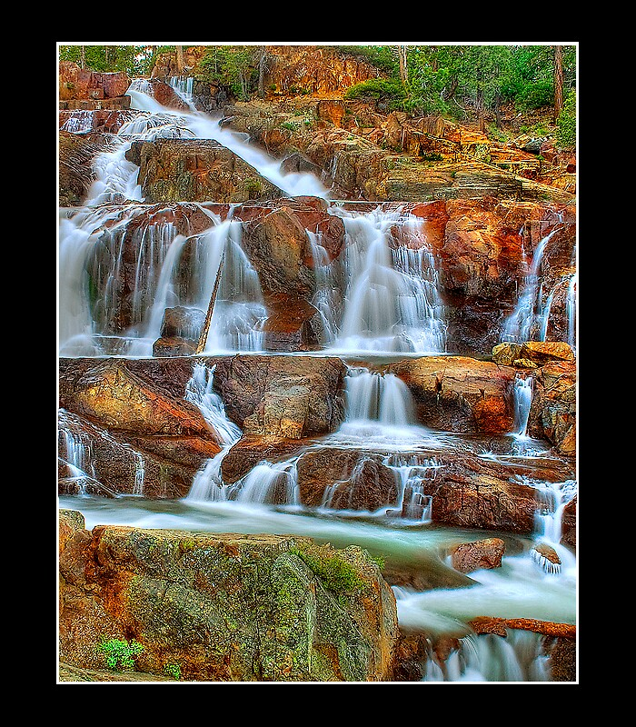 Glen Alpine Falls by Rickcalif