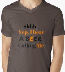 shh i hear beer calling me T-Shirt