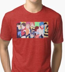 BTS Love Yourself All Members Tri-blend T-Shirt