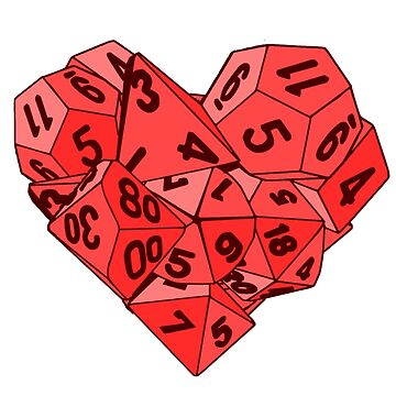 Dice Heart by -Shiron-