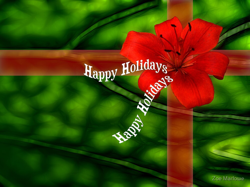 Merry Christmas Present by Zoe Marlowe