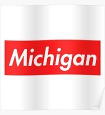 Michigan Supreme Poster