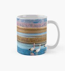Flamingo's in Blue Classic Mug