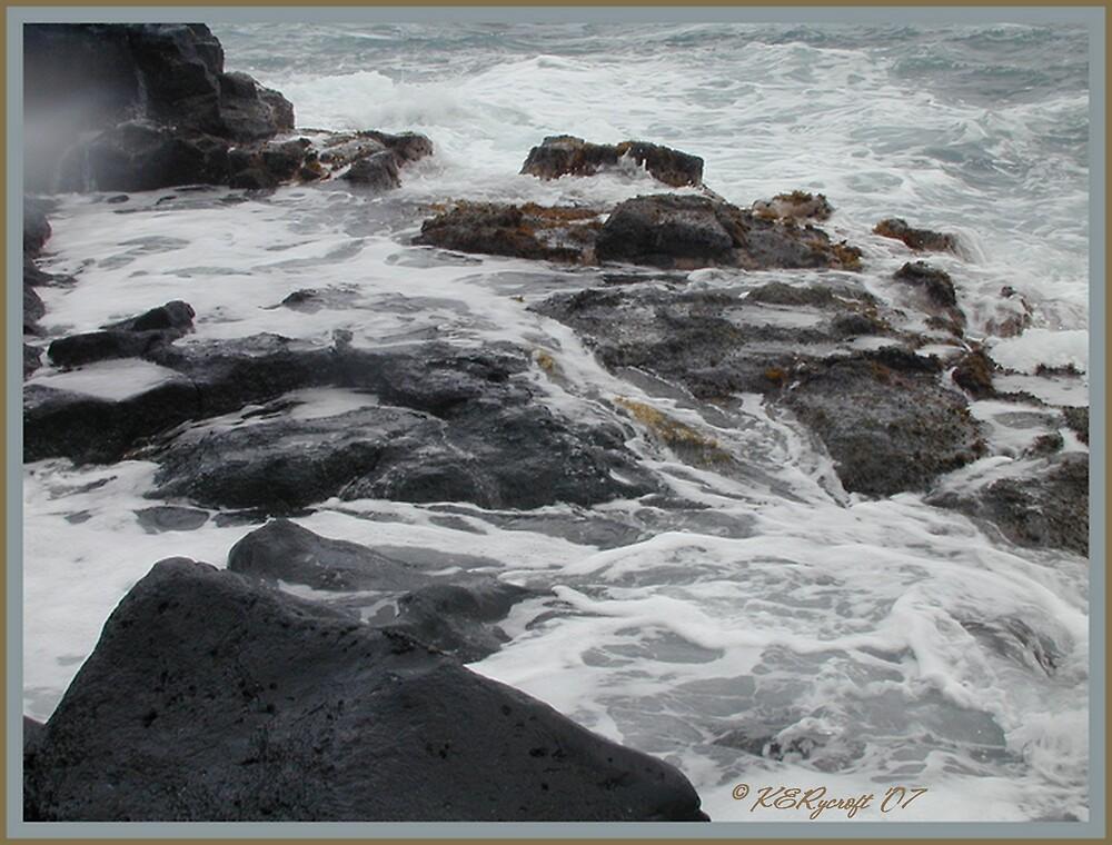 """Angry Ocean2"" by Kathryn Eve Rycroft"