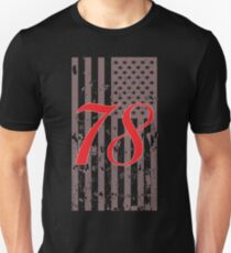 Number 78 ... A Patriot! T-Shirt