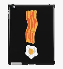Breakfast is Important! iPad Case/Skin