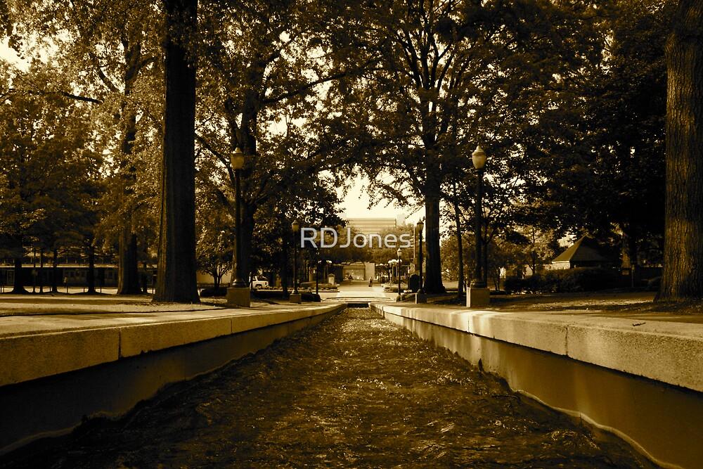 Fountain Path by RDJones