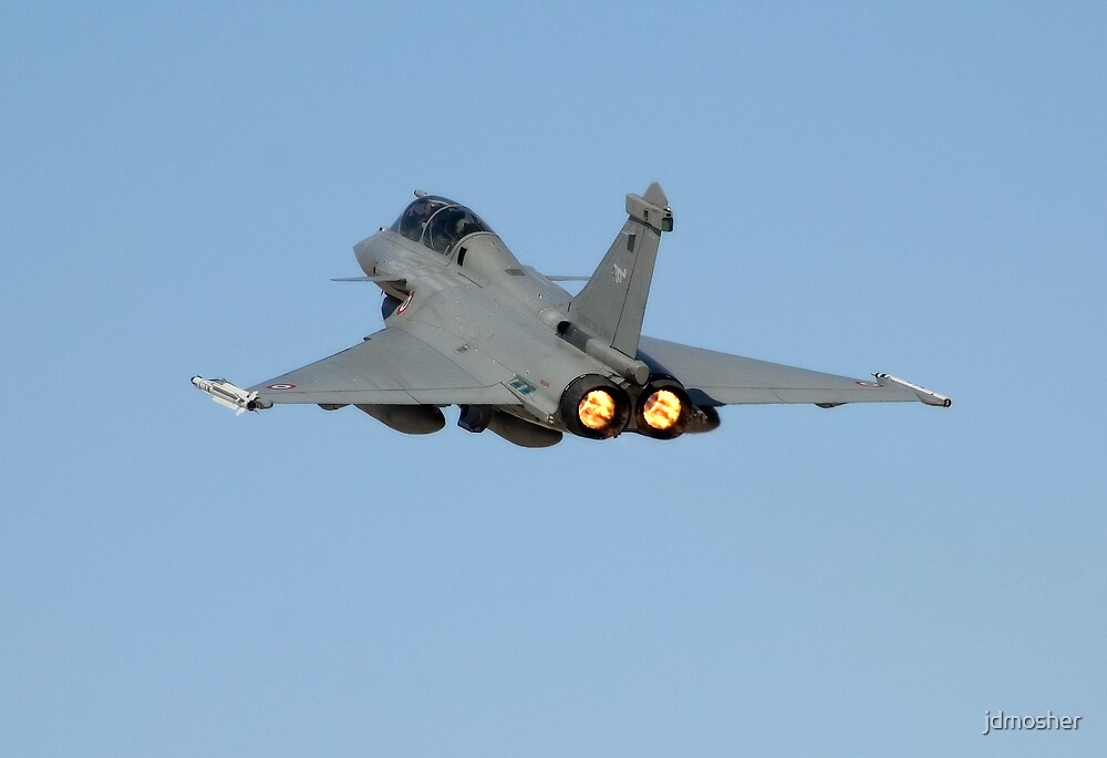 French Rafale Depature by jdmosher