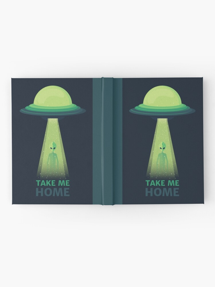 Alternate view of Take Me Home Hardcover Journal