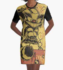 Nekobus, le Chat Noir cartel Vestido camiseta