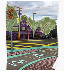 Intersection ~ By Ernie Kasper Poster