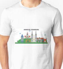 France, Strasbourg City Skyline Design T-Shirt