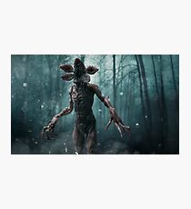 Stranger - Demogorgon Photographic Print