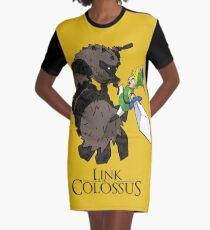 Link y el Coloso Vestido camiseta