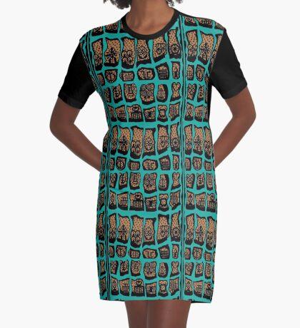 Wild Women Aint got no Blues Graphic T-Shirt Dress