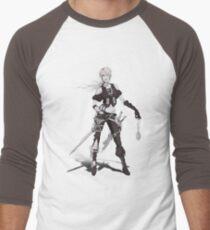 Myrcella Camiseta ¾ bicolor para hombre