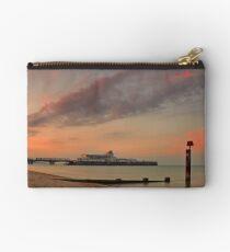 Bournemouth Pier Sunrise Studio Pouch