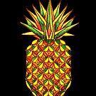 Geometric Pineapple by dotsofpaint