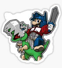 Optimus Mario Pegatina