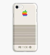 Platinum Retro Apple iPhone Case/Skin