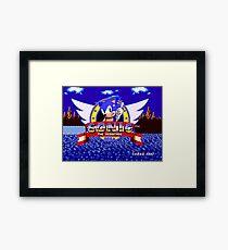 1991 Sonic Framed Print