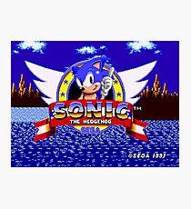 1991 Sonic Photographic Print