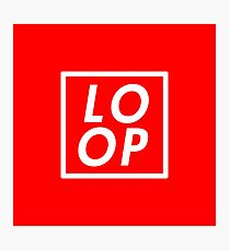 LOOP Photographic Print