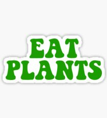eat plants Sticker