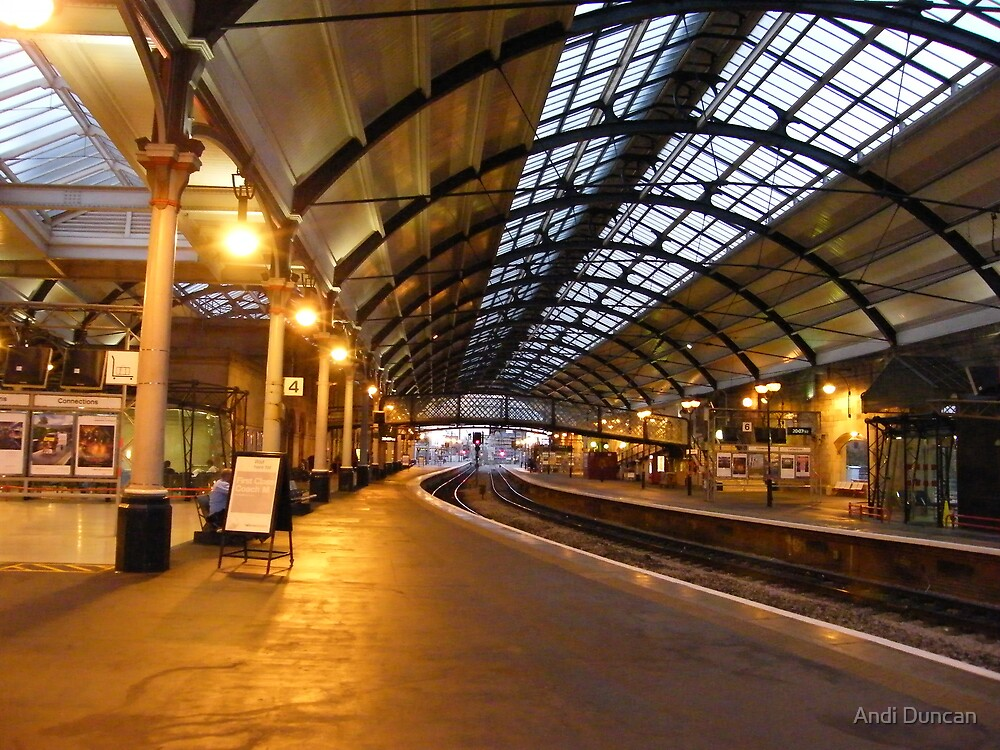 Newcastle Central Station by Andi Duncan