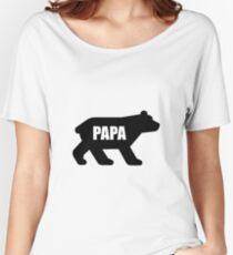 Papa Bear Women's Relaxed Fit T-Shirt