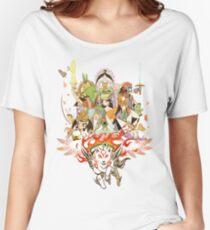Okami Fanart Women's Relaxed Fit T-Shirt
