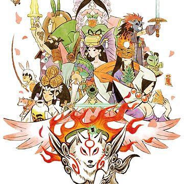 Okami Fanart by TebaSheikah