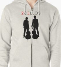 2 CELLOS Exclusive T-shirt Zipped Hoodie