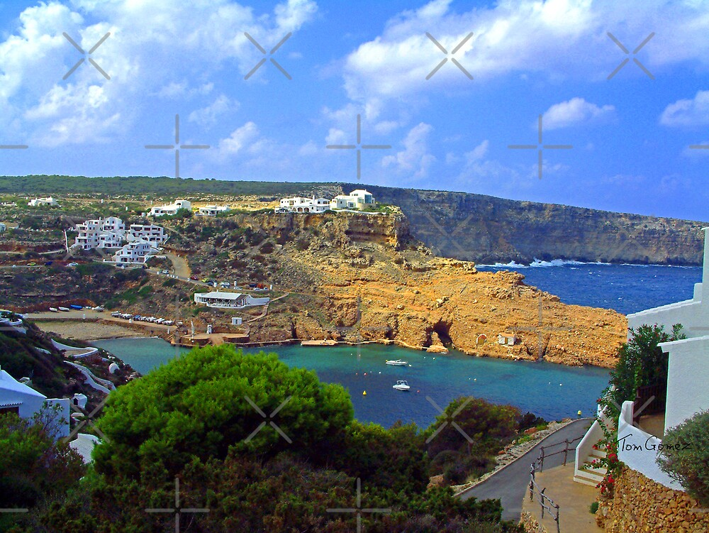 Cala Morell Bay II by Tom Gomez