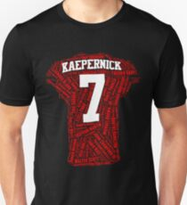 Colin Kaepernick: Carrying the Weight Unisex T-Shirt