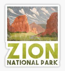 Zion National Park T shirts Hike Camp Nature Park Sticker
