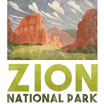 Zion National Park T shirts Hike Camp Nature Park by Intune