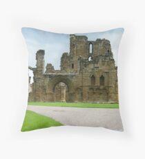 Tynemouth Priory Throw Pillow